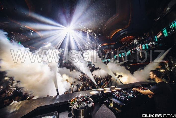 Salvin DMX CO2 Jets at Omnia - Las Vegas