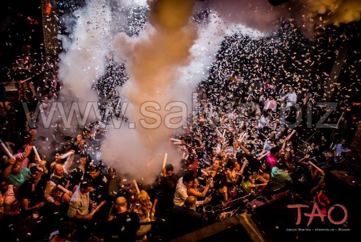 Salvin Confetti Launchers and CO2 Jets at Tao - Las Vegas